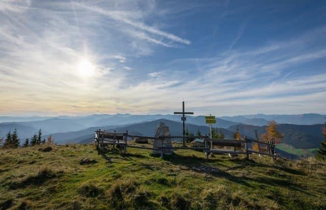 Grebenzen Gipfel Bergpanorama Seetaler Alpen