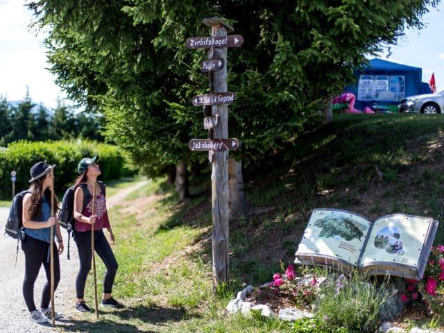 Jugend Wegweiser Wandern Zirbitzkogel