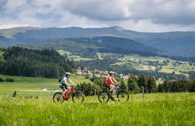 Mountainbiken im Naturpark